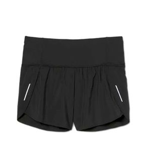 New All in Motion Black High-Rise Run Shorts